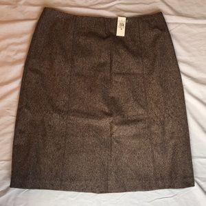 NWT Ann Taylor Wool A-Line Skirt